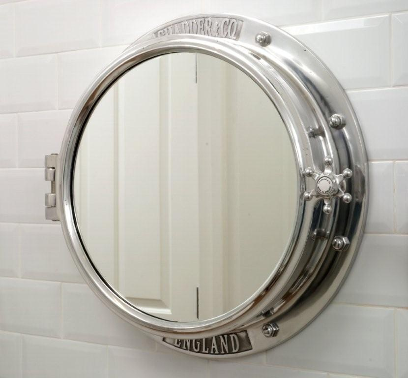 Ahoy land lovers introducing the porthole mirror and for Porthole style mirror