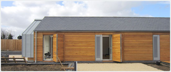 Contemporary Barn Gets Natural Look With Glendyne Archetech