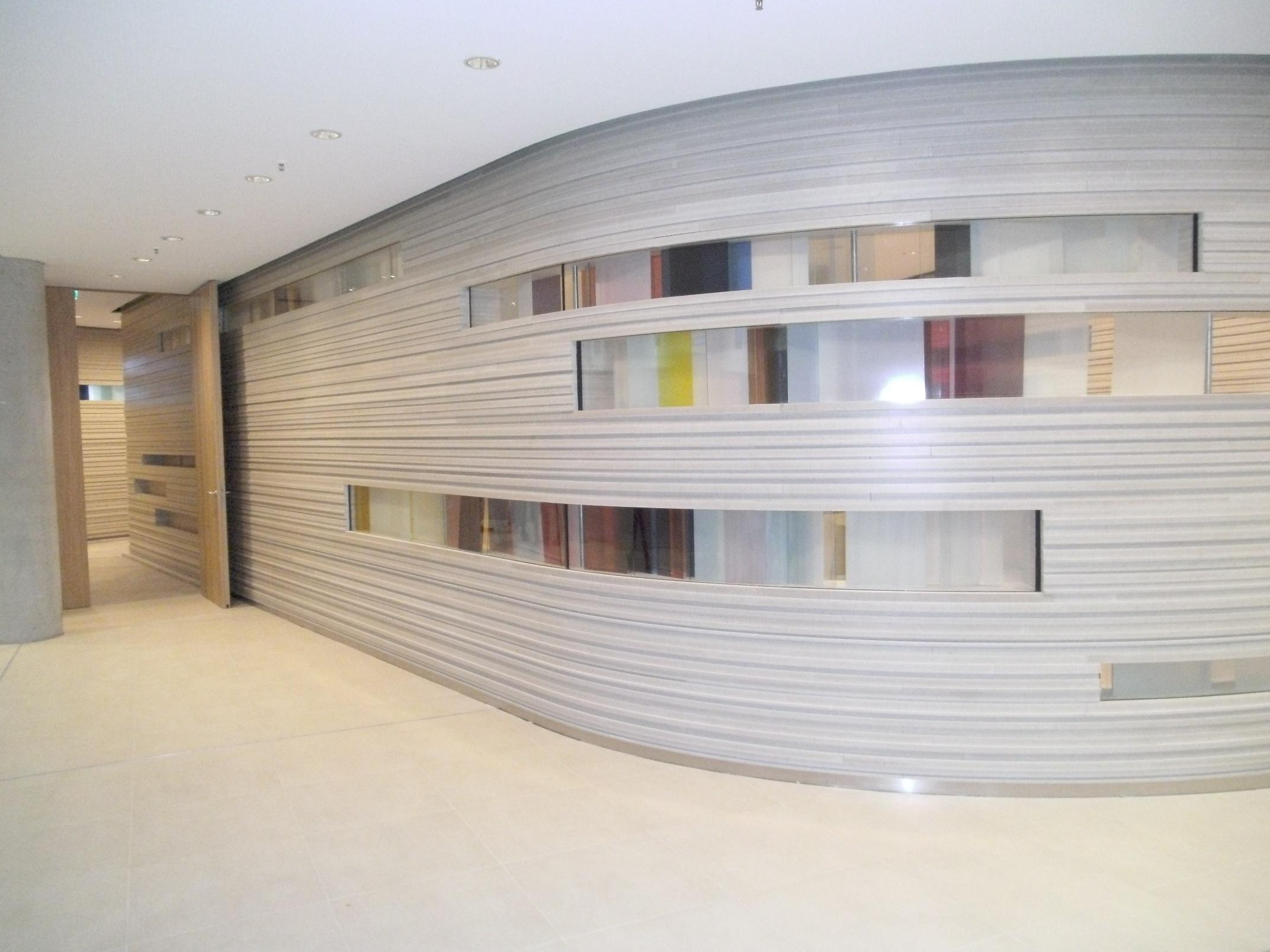 knauf vinova panels increase design potential archetech. Black Bedroom Furniture Sets. Home Design Ideas