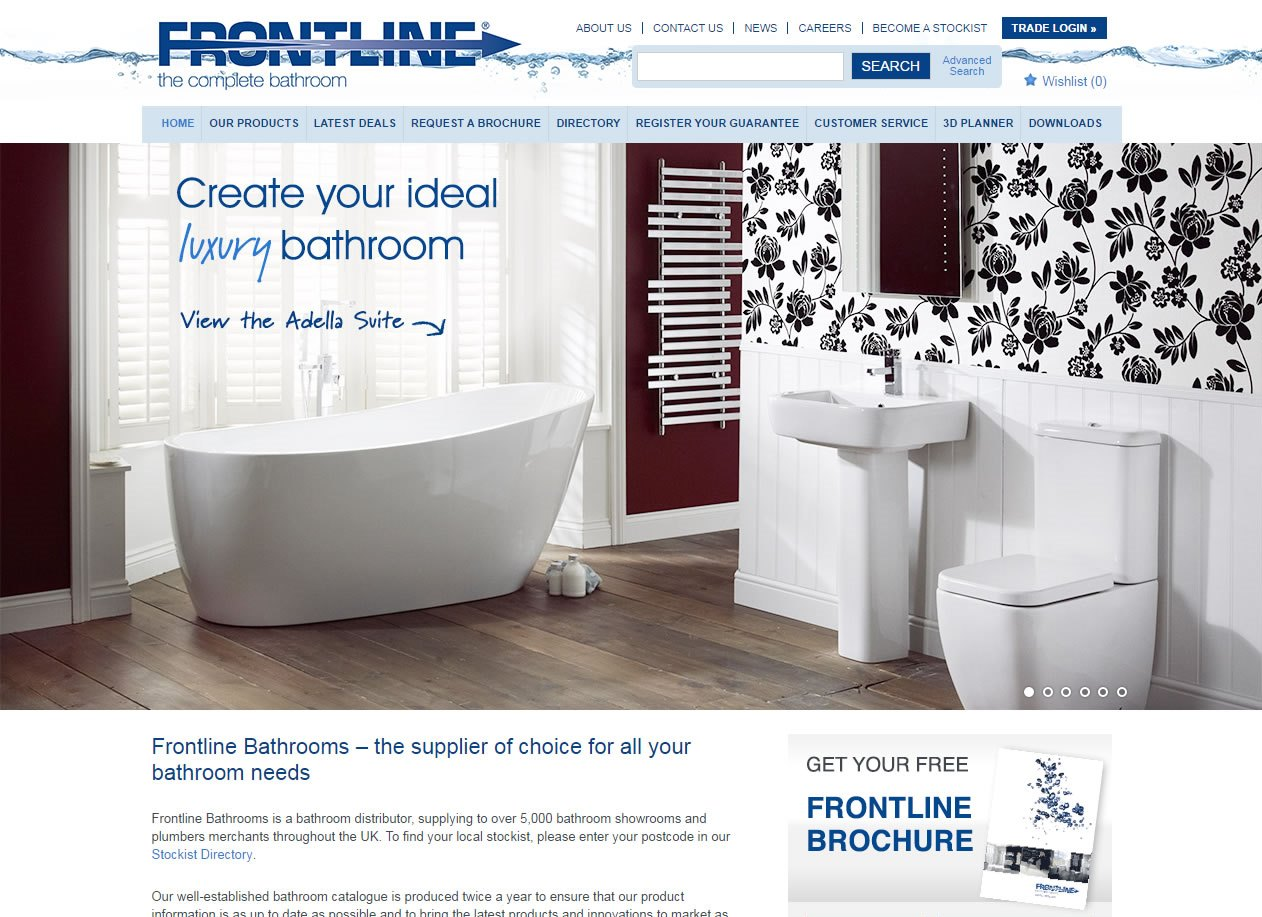 Frontline website re-design and app - Archetech