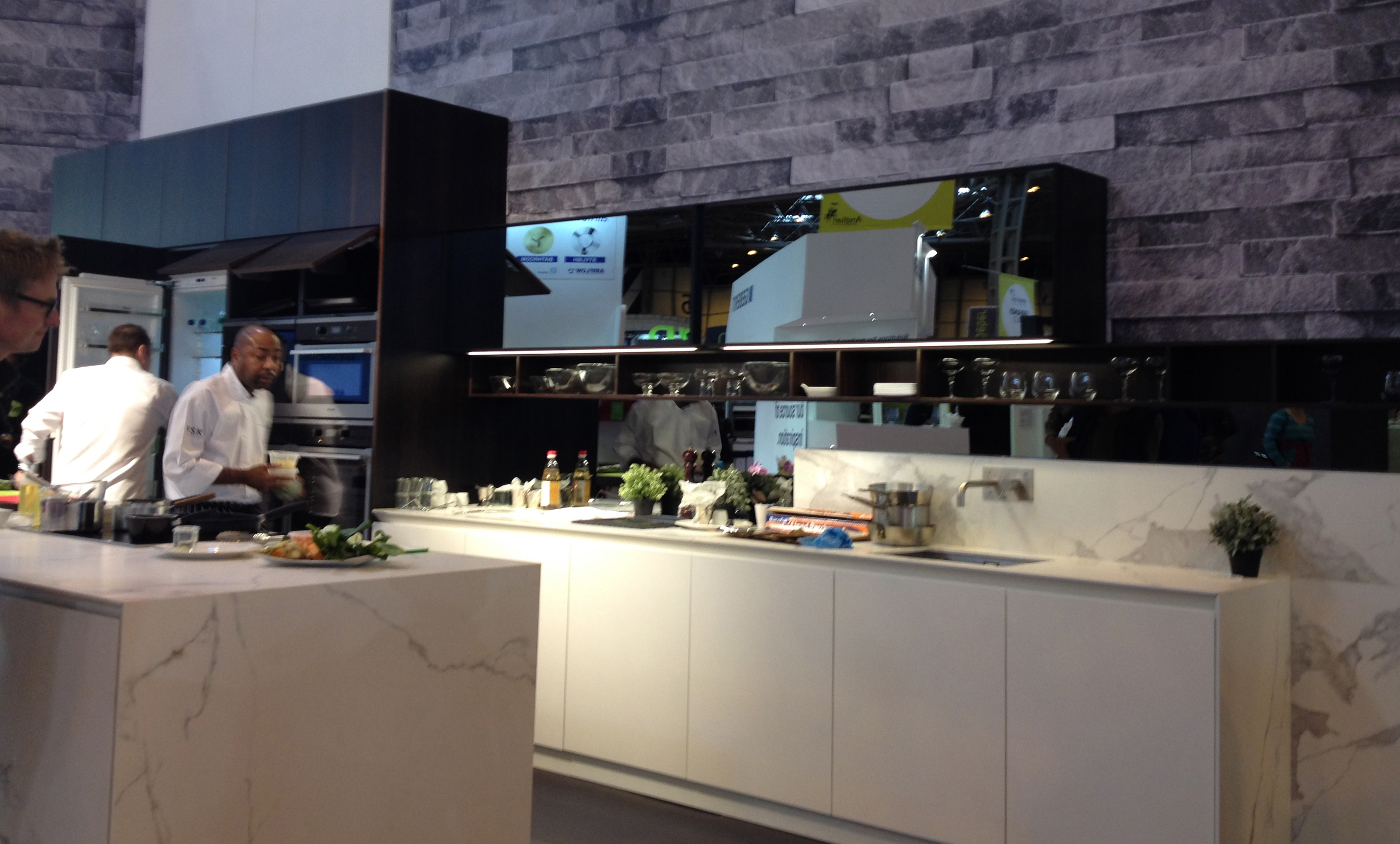 Premium german kitchen manufacturer and creator of the first handle - Success At Grand Designs Live With Doca Uk As The Live Kitchen Experience